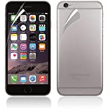 LUNIWEI For iPhone 6S Front And Back Clear Film LCD Screen Protection