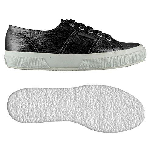 Sneaker Donna Black Cotmetembos Superga 2750 wBTYq4X