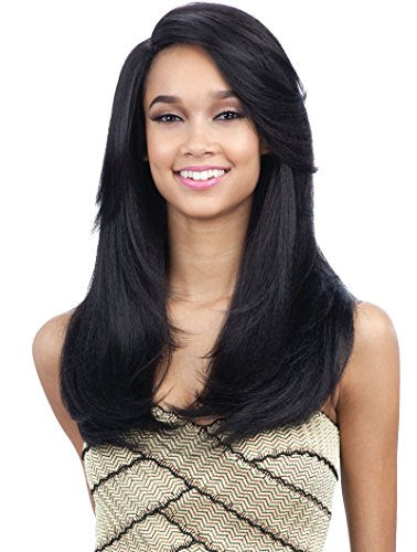 FreeTress Equal Synthetic Hair Wig Extreme Side Part Ursula (OP27)]()