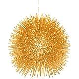Varaluz 169M01GO Urchin 1 Light Mini Pendant, Gold
