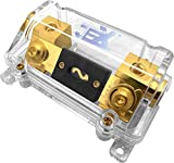 Jex Electronics ANL In-Line Fuse Holder upto 1/0GA Stereo/Audio/Car/RV/Boat + ANL Fuse 80A-300A