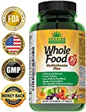 Whole Food Multivitamin Plus Complete Daily Multivitamins for Men and Women, All Natural