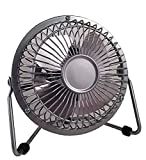 """Massey 4"""" Personal High Velocity Fan, Gray/Silver, Now Sold as PMX offers"""