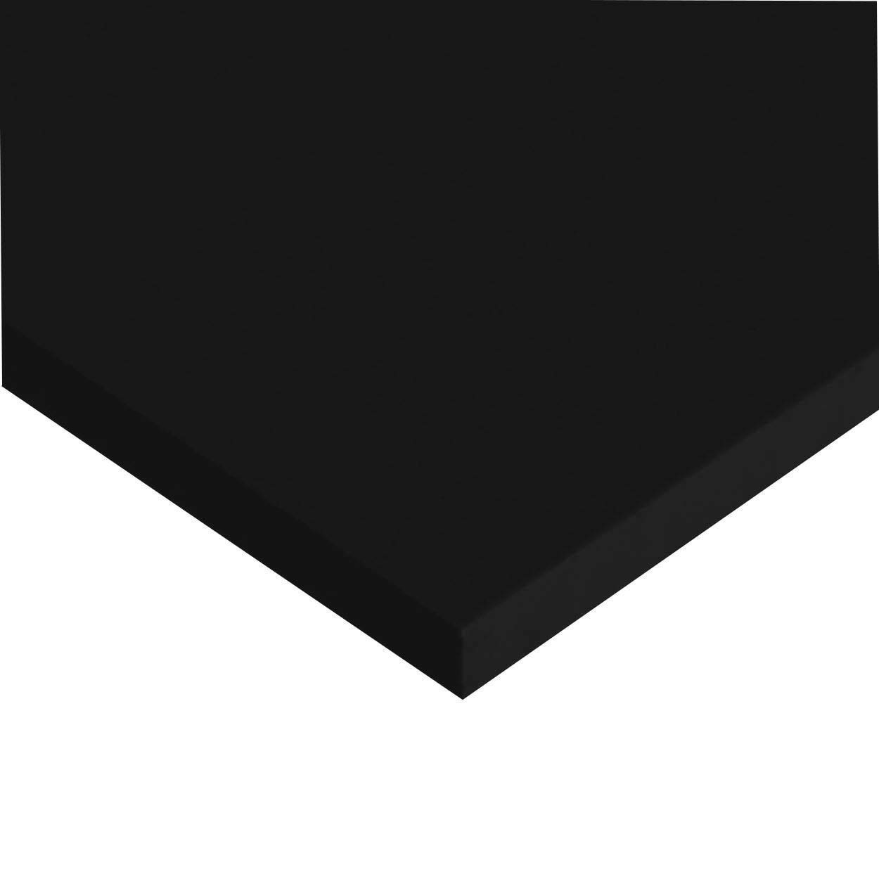 Online Metal Supply UHMW Polyethylene Sheet 0.500 x 18 x 24 Black