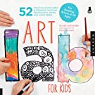 Art Lab for Kids: 52 Creative Adventures in Drawing, Painting, Printmaking, Paper, and Mixed Media-For Budding Artists (Lab Series), by Rainer Schwake