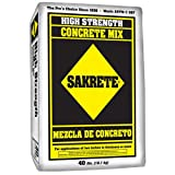 SAKRETE OF NORTH AMERICA 65201030 40 lb Sakrete Concrete Mix