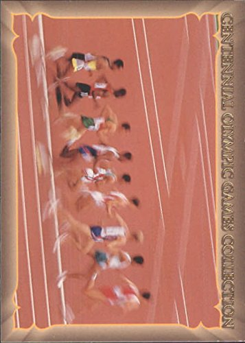 1996 Collect-A-Card Centennial Olympic Games Collection #103 200-Meter Ind. Medley - Men & Women - (Male Medley)