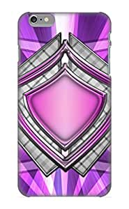 New Style Case Cover Ygyoxl-3334-otwwkba Abstract Purple Masked Gfx Tyler Hiovich Compatible With Iphone 6 Plus Protection Case