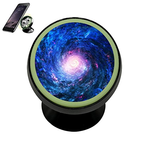 Magnetic phone Car Mount Holder Blue Nebula Car Cradles Universal Stands - Phone Grip And Stand