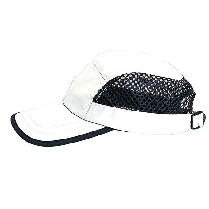 316d5b4db95 Amazon.com  5 PANEL NYLON   MESH ADJUSTABLE CAP
