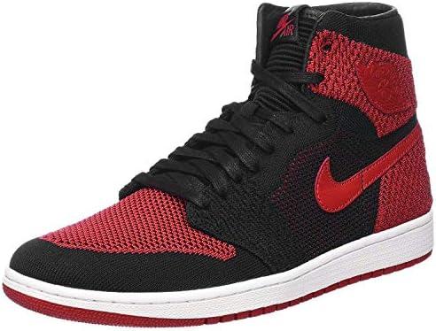 2017 Nike Air Jordan Trainer 1 Sneakers Black Red White Mens