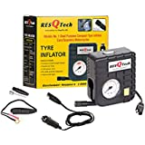 ResQTech Micro Tyre Inflator .Buy ONLY from RESQTECH,Rest Sellers are Illegal & Unauthorised (No Warranty Will be Provided)
