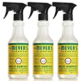 Mrs. Meyer's Multi-Surface Everyday Cleaner, Honeysuckle, 16 Fluid Ounce (Pack of 3)