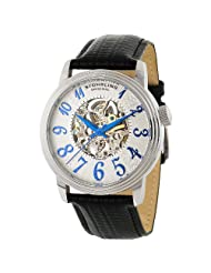 Stuhrling Original Men's  107A.331516 Delphi Apollo Classic Collection Automatic Silver Dial Watch