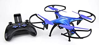 NCC® rayline cuadricóptero funtom 6WiFi 720P Cam–Función de Barómetro, headless Modo, cámara WiFi, One Key Landing, iluminación LED y 2baterías