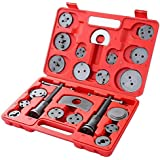 MOSTPLUS Universal Disc Brake Caliper Wind Back Tool and Piston Compression Sets-22 Pieces