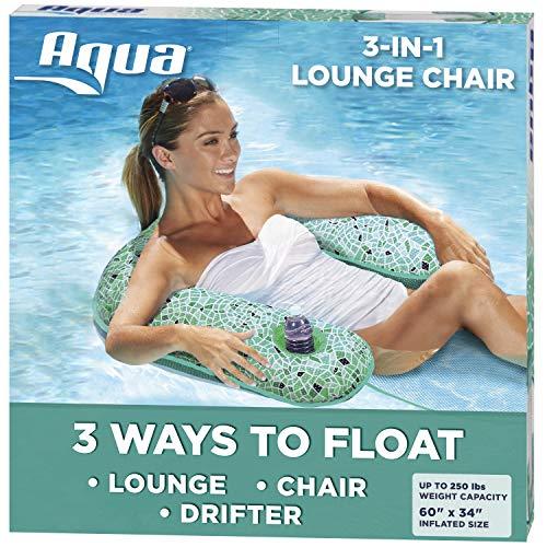 Aqua Mosaic 3-in-1 Pool Chair Lounge