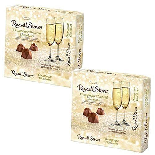 - 2 pack - Russell Stover Champagne-Flavored Chocolates, 3.7 oz per box