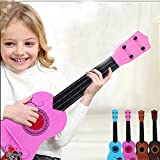 E Support™ Child's Acoustic Guitar Beginner's Musical Instrument Kid 6 String Pink Mini Guitar