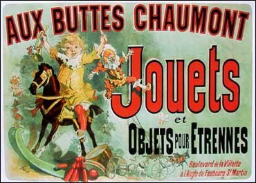 Jouets Poster as seen on Friends (Vintage Merchandise compare prices)