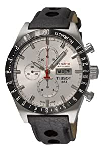 Tissot Men's T0446142603100 T-Sport PRS516 Automatic Silver Day Date Dial Watch