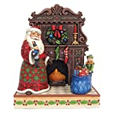 Jim Shore Masterpiece Delivering Toys and Christmas Joys Santa Figurine 4055047