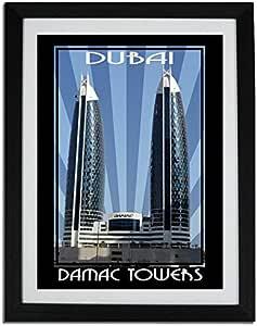 Photo of Damac Tower -Colour F06-NM (A3)