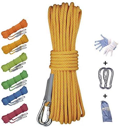La cuerda de seguridad portátil de 12 mm no es fácil de ...