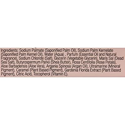 One With Nature Dead Sea Mineral Rose Petal Soap - 7 oz - (Pack of 3)