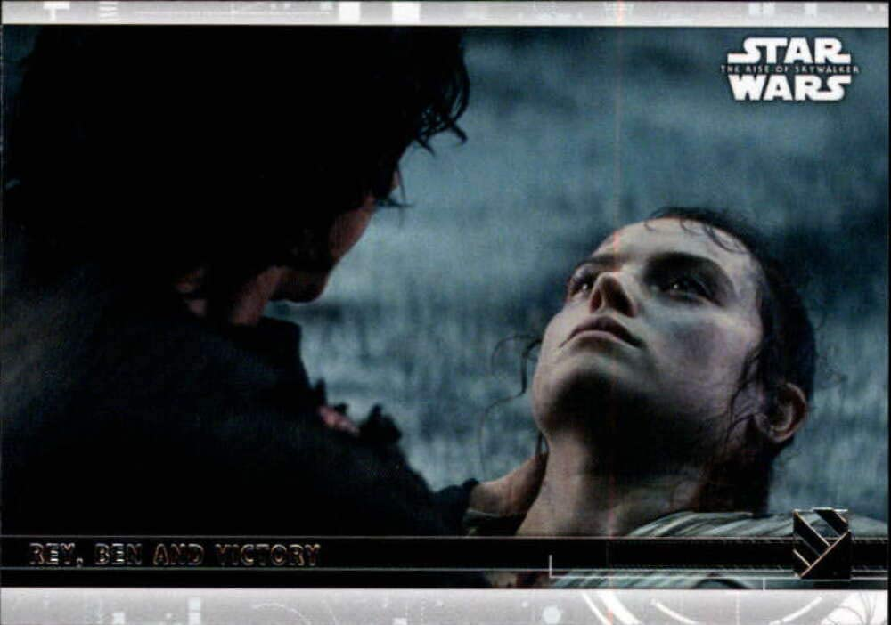 2020 Topps Star Wars The Rise Of Skywalker Series 2 95 Rey Ben And Victory Trading Card At Amazon S Entertainment Collectibles Store
