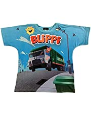 Blippi Official Child Garbage Truck T-Shirt for Kids Size 3T