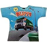 Blippi Official Child Garbage Truck T-Shirt for Kids Size 2T