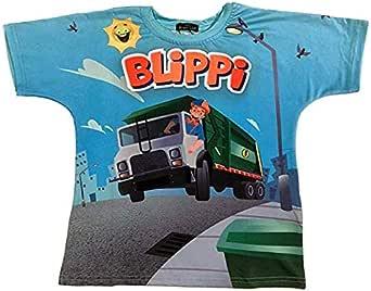 Blippi Child Garbage Truck Shirt for Kids