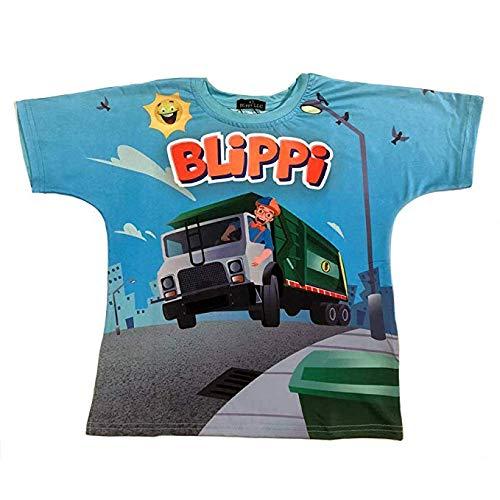 Blippi Child Garbage Truck Shirt for Kids (3T)
