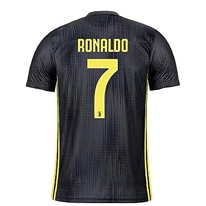e0e6acf9aaf aaDDa Juventus Away Ronaldo Printed Jersey Without Shorts 2018-2019 (M)