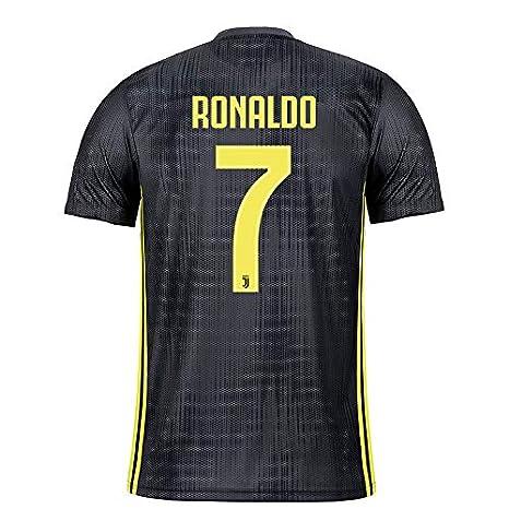 7c2cd853e aaDDa Juventus Away Ronaldo Printed Jersey Without Shorts 2018-2019 (M)