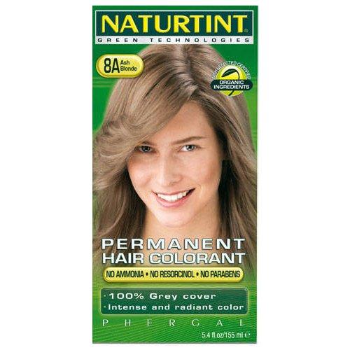 (10 PACK) - Naturtint - Hair Dye - 8A Ash Blonde | 135ml | 10 PACK BUNDLE by Naturtint