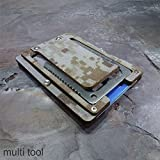 military money clip - MultiWallet Desert Eagle Edition. Kydex Tactical Wallet With Money Clip and Multitool.