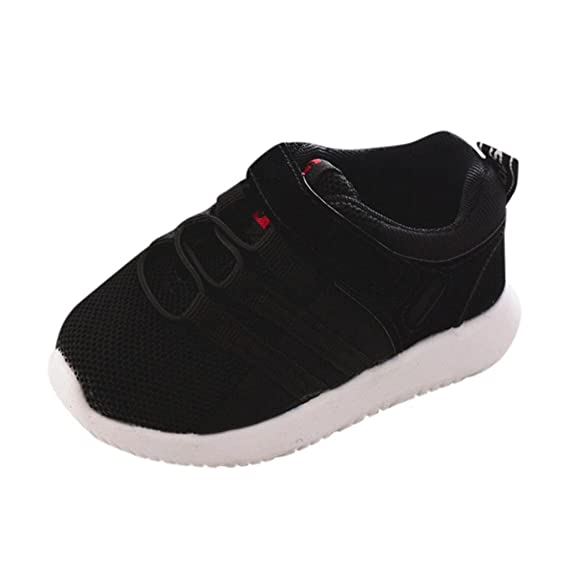 ZODOF Toddler Kids Sport Running Zapatos de bebé Niños Niñas Soft Soled Mesh Shoes Sneakers Calzado