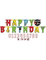 Amscan Angry Birds Birthday Add An Age Jumbo Letter Banner - 123710, Multi Color