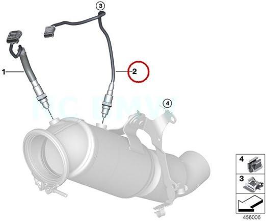 Original Bmw F30 N F31 N Kombi Lambdasonde Sauerstoff Sensor 540 Mm Oem 11788611294 Auto