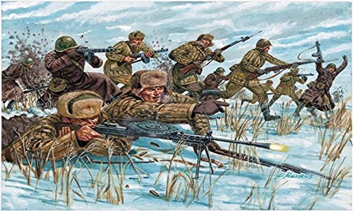 Italeri 1:72 - WWII Russian Infantry (winter Unif) ()