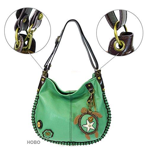 Handbags Teal By Hobo Xbody Turtle Charming large X Chala qa8pw8HI