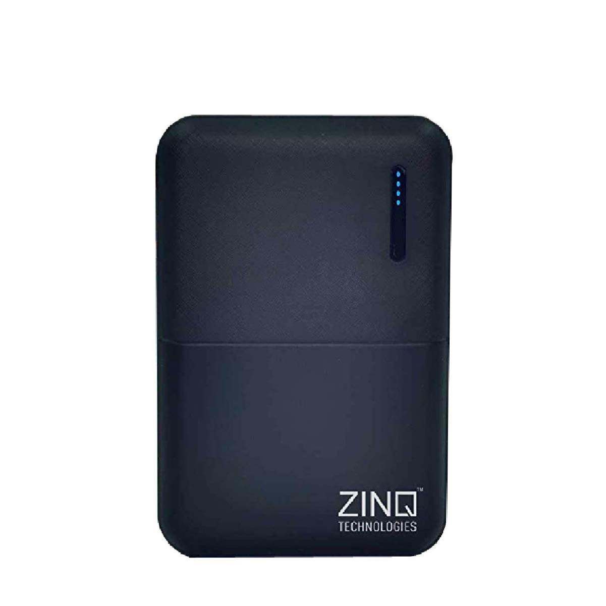Zinq Technologies Z10KP 10000mAH Lithium Polymer Power Bank (Qualcomm Certified) with QC 3.0 (Black)