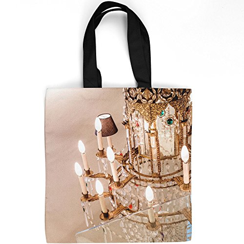 Westlake Art - Chandelier Historical - Tote Bag - Fashionable Picture Photography Shopping Travel Gym Work School - 16x16 Inch (1320E)