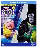 DVD : Sing [Blu-Ray]+[Blu-Ray 3D] [Region Free] (English audio. English subtitles)