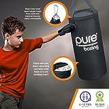 Pure Boxing Kids 25lb Canvas Heavy Bag Boxing Set