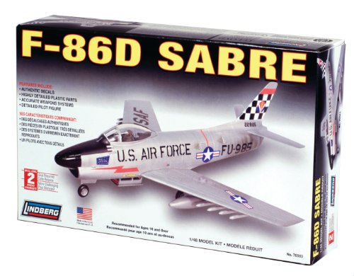 Used, Lindberg F-86 d Sabre for sale  Delivered anywhere in USA