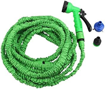 Watering Nozzles watering nozzle for hose 50FT/15m Expandable Flexible 3X Magic Water Hose Pipe Flexible Spray Nozzle Gun watering nozzle set watering nozzle kit Green