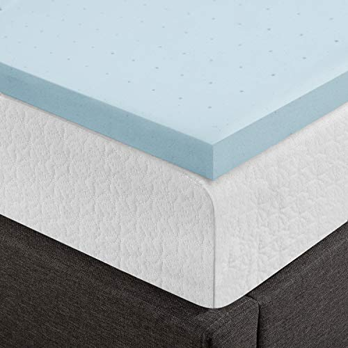 Best Price Mattress, 2.5 Inch Gel Memory Foam Mattress Topper/Mattress Pad, Certipur-US Certified, King